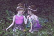 These little fairies spend the day in a clover patch and performs their little magic