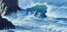 Close-up of Davids seascape